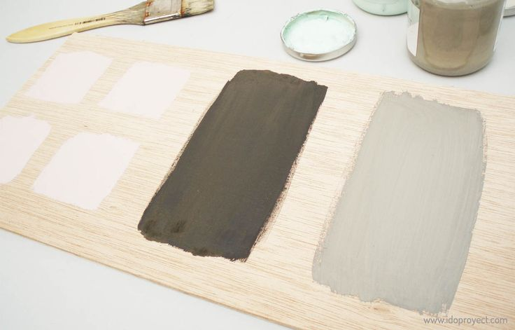 Pintar con chalk paint la superficie