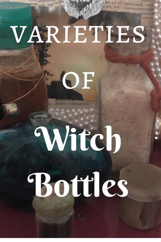 Varieties of Witch Bottles - Making a Witch Bottle - Siobhan Johnson