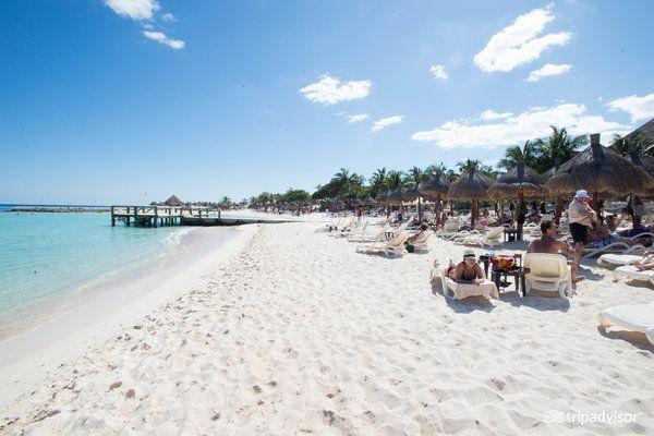 Luxury Bahia Principe Riviera Maya/Akumal, Mexico - Miss walking on this beach everyday ☀️