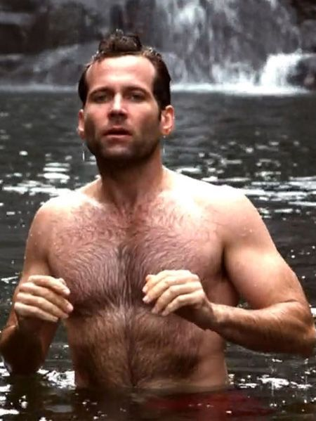 Eion Bailey (August W. Booth on @Jena McClendon Kittie Upon a Time - Once Upon A Time)