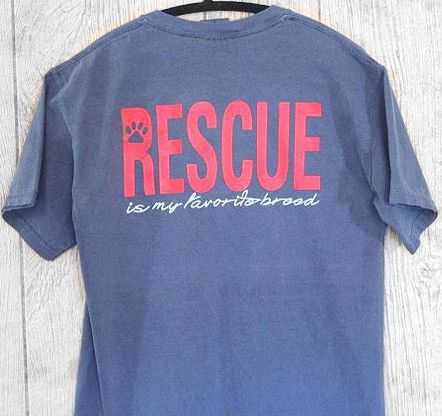 Rescue Is My Favorite Breed-  Short Sleeve Shirt - Treat Dreams  - 3