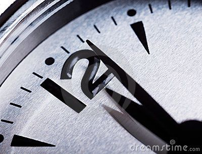 Past Midnight Clock