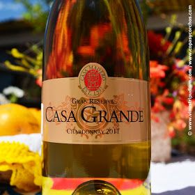 Vinus Tripudium: Entre los mejores vinos mexicanos: Casa Madero, Casa Grande Chardonnay