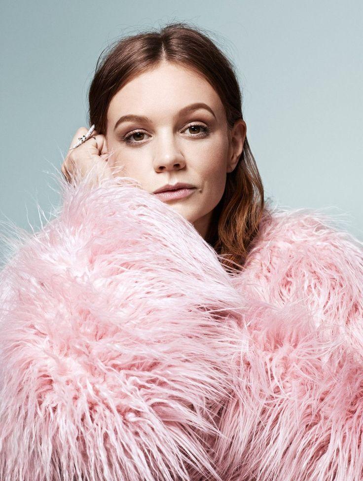 Carey Mulligan photoshoot for Elle Magazine UK November 2015