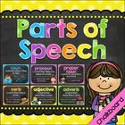 These printables feature 9 parts of speech with sentence examples and coordinating clip art.  This set includes: •10 Posters (PDF Files) -Noun -Pro...
