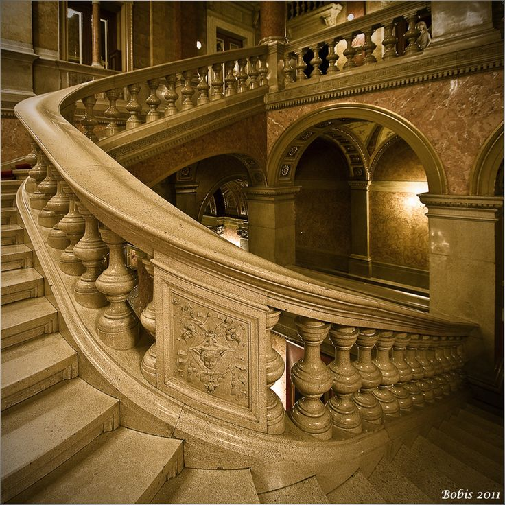 Staircase In The State Opera House Visit Budapest