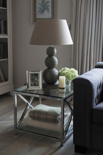 £375 Neptune Manhattan Lamp Table
