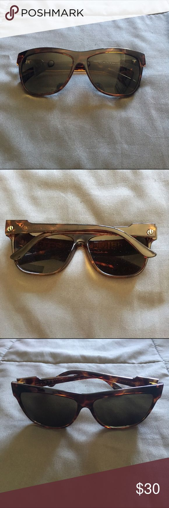Women's Electric Sunglasses Women's electric sunglasses. Tortoise color. Worn once. No scratches. Comes with soft pouch. electric Accessories Sunglasses