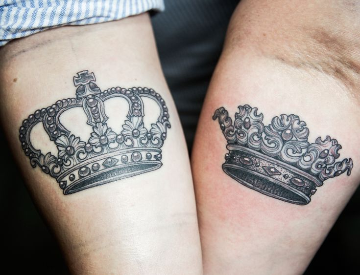 his and hers crown ejay tattoo coronas pinterest. Black Bedroom Furniture Sets. Home Design Ideas