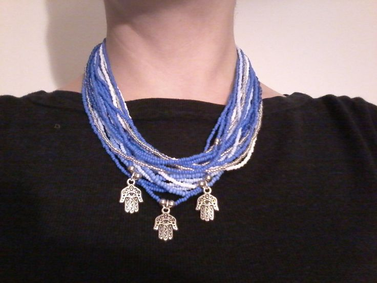 hamsa beads