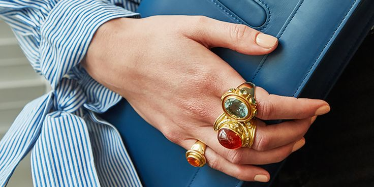 39 best How To Wear: Rings images on Pinterest