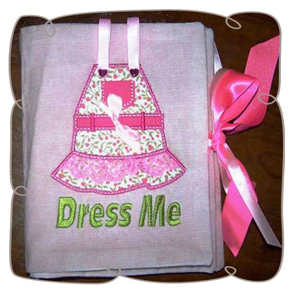 Dress me activity book: Embroidershoppe