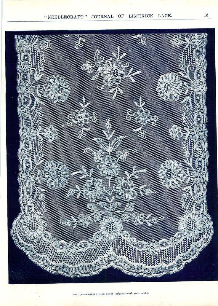 Limerick Lace scarf