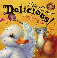 One of my daughter's favorite writers. Check out Helen Cooper's many unique and rich stories with unforgetable characters and intricate illustrations. Featured here - Delicious.