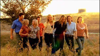 Cast on Drovers Run, Gungellan, SA