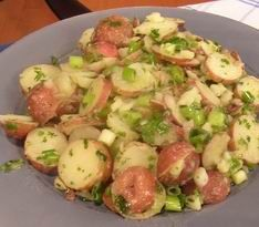 Red Skin German Potato Salad  by Judy Nugent