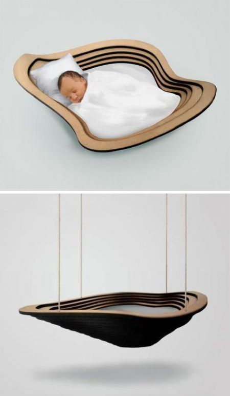 Cloud baby cradle--wish they had this when my daughter was a baby