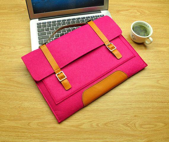 Macbook 15 case macbook 15 inch case macbook 15 sleeve by TopFelt