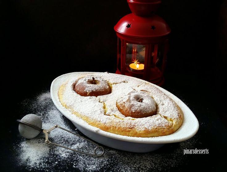Pınar's Desserts: Baharatlı ve Elmalı İrmik Sufle