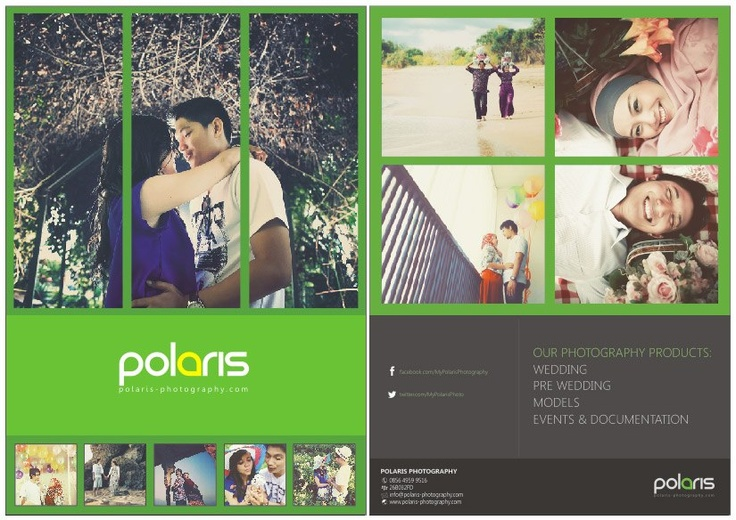 Polaris Photography brochure concept.