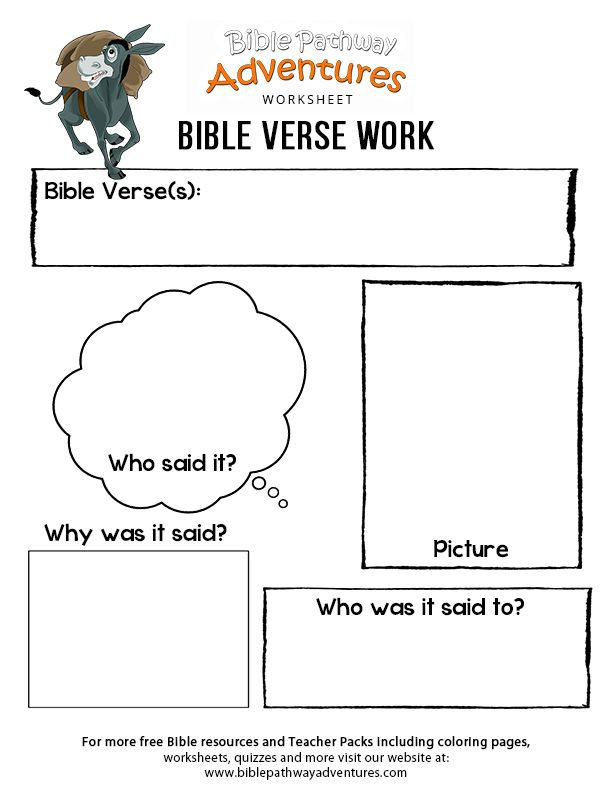 Pin On Free Bible Printables For Kids