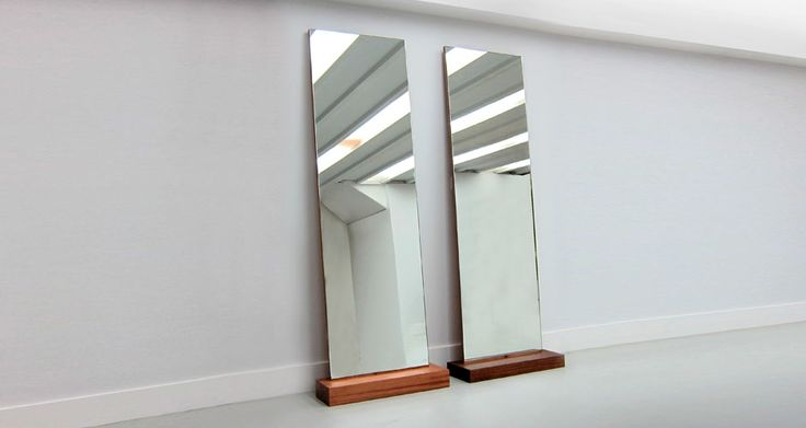 Sleeper Mirror - Freestanding or pop up against the wall