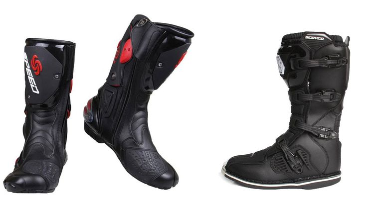 Top 5 Best Cheap Motorcycle Boots Reviews 2016 Best Cheap Motorcycle Riding Boots   I put links to each Motorcycle Boots reviews at AliExpress page in the description So you can check out the other reviews at AliExpress.  1. PRO-BIKER SPEED BIKERS Motorcycle Boots Moto Racing Motocross Off-Road Motorbike Shoes Black/White/Red Size 40/41/42/43/44/45 http://ali.pub/mdakj  2. New Men waterproof leather Motorcycle Boots Vintage motorbike protective Motorcycle boot motorcyclists street Riding…