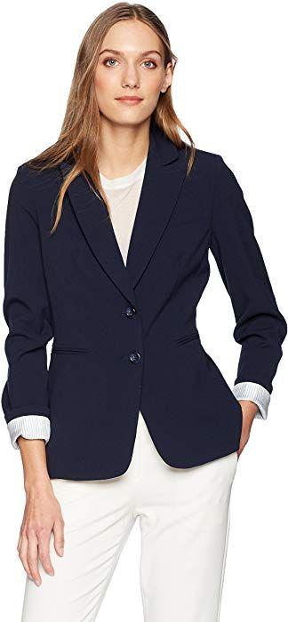d8bc52c698c Tahari by Arthur S. Levine Women s 2 Button BI Stretch Jacket