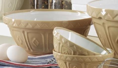 mason cash mixing bowls - need to replace my old plastic mixing bowls that have tons of cracks!