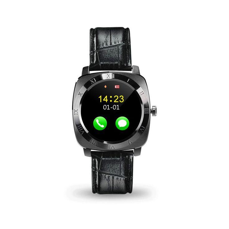 X3 bluetooth schrittzähler schlaf smart watch leder android smartwatch monitor fernbedienung kamera musik sim-tf-karte //Price: $US $23.21 & FREE Shipping //     #smartuhren