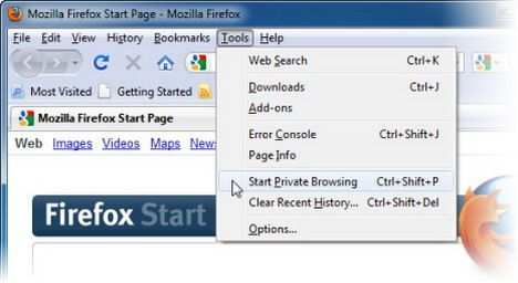 How to Use Mozilla Firefox to Browse Internet without Saving any Web History, Cookies and Temporary Internet Files - Quertime