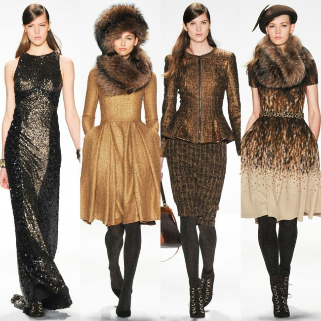 Badgley Mischka Fall-Winter 2014 New York Fashion Week http://berrytrendy.com/2014/02/12/new-york-fashion-week-2014/