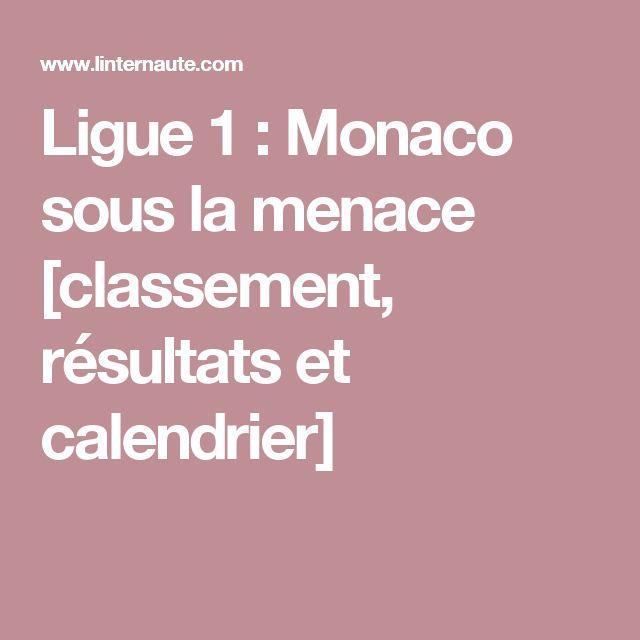 Ligue 1: Monaco sous la menace [classement, résultats et calendrier]