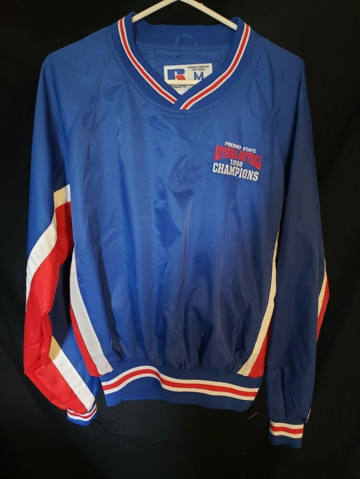 Fresno State 1998 Softball Champions Pullover Russell