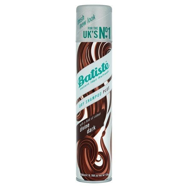 Batiste Dry Shampoo Dark & Deep Brown 200ml | Superdrug