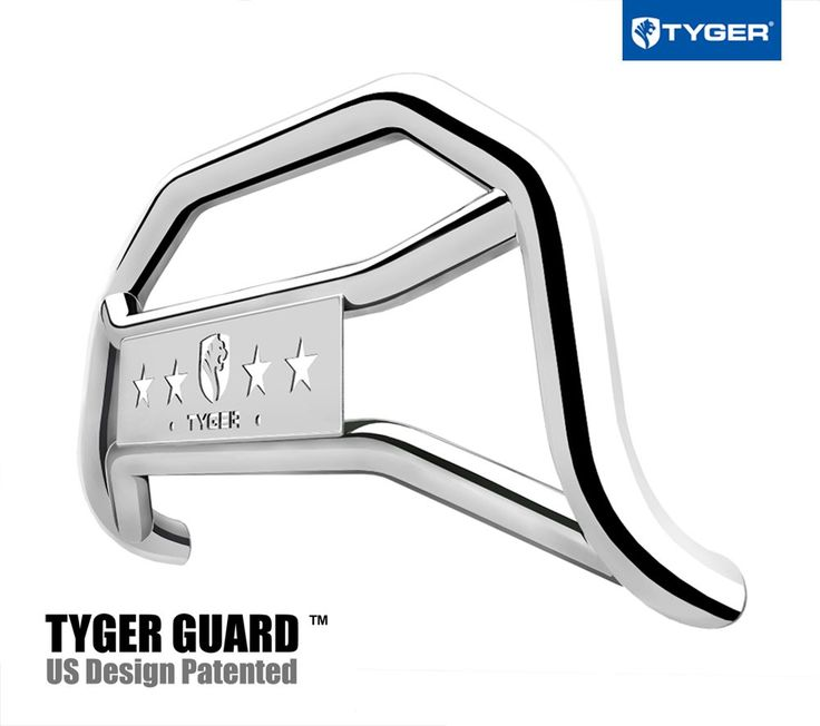 Tyger Auto TG-GD6N60157 Front Bumper Guard Stainless Steel Fits 2005-2018 Nissan Frontier | Light Mount | Bull Bar