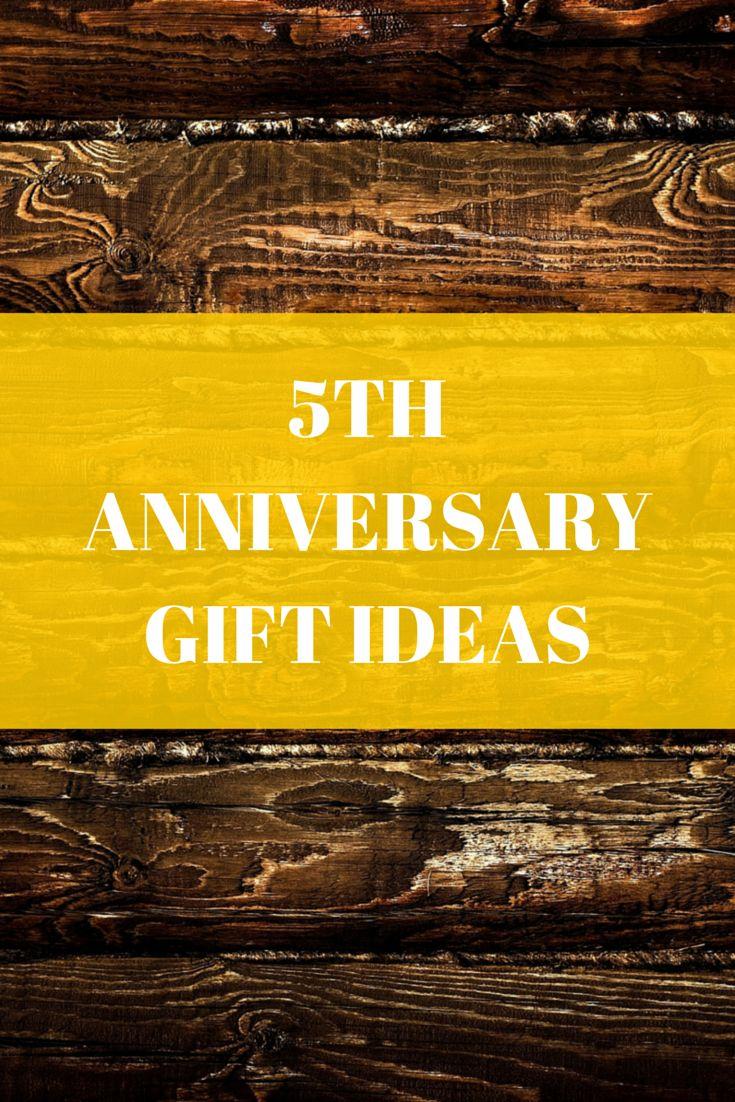 5TH ANNIVERSARY GIFT IDEAS =)
