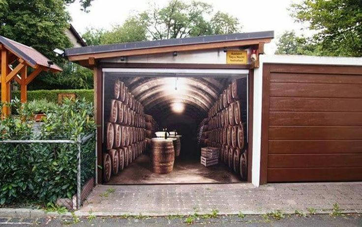 35 Best Garage Door Murals Images On Pinterest Door