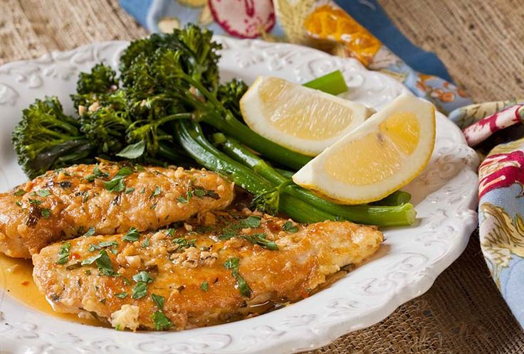 Rochester-Style Chicken French & Lemon Broccolini   The Artful Gourmet