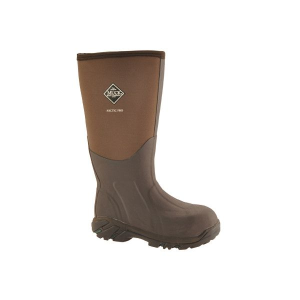 Muck Boots Arctic Pro Steel Toe Boot - Bark