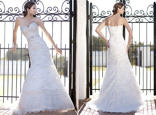 Another stunning dress any girl could picture herself walking down the aisle in.    http://www.essensedesigns.com/dress-D1108