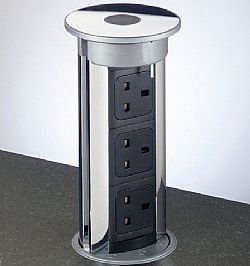 Pop Up Outlets Kitchen Islands | The Pop Up Power Socket | Kitchen Secrets  | For The Home/ Organization | Pinterest | Outlets, Kitchens And House