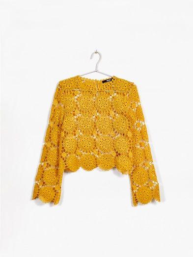 Field sweater | 7177901 | Keltainen | BikBok | Suomi
