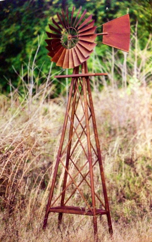 Vintage Garden Windmill