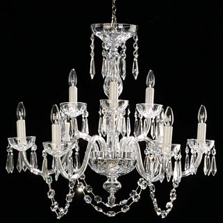54 best waterford lighting wwrd images by waterford wedgwood royal waterford lismore 9 arm chandelier if you love diamonds it is only natural that aloadofball Images