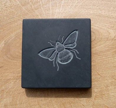 Louise Tiplady - Carved slate plaques