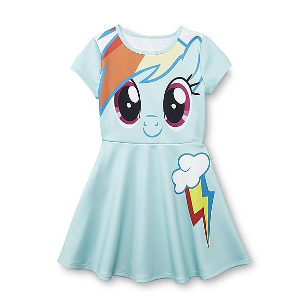 My Little Pony Fit & Flare Dress - Rainbow Dash