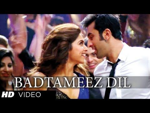 "Here's bringing to you ""Badtameez Dil"" song from Ranbir Kapoor, Deepika Padukone most anticipated movie of 2013 ""Yeh Jawaani Hai Deewani"" directed by Ayan Mukherji. The music is composed by Pritam Chakraborty."