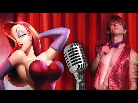 Male Jessica Rabbit - Chris Villain Cover - YouTube ~ Couldn't stop blushing!! I never blushed this much over a video :)