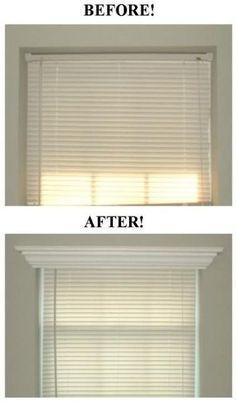 # 6.  Añadir moldeo y: o recortar a sus ventanas - 27 sencillos proyectos de remodelación que transformarán por completo tu casa